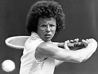 02.07.1975 Billie Jean King (USA) Tennis 1975 Wimbledon London All England Championship