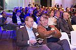 AMERSFOORT - Willem Zelsmann met Henk Heijster.  Nationaal Golf Congres & Beurs (Het Juiste Spoor) van de NVG.     © Koen Suyk.