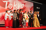 Miko Girl appears on the opening red carpet for The 30th Tokyo International Film Festival in Roppongi on October 25th, 2017, in Tokyo, Japan. The festival runs from October 25th to November 3rd at venues in Tokyo. (Photo by Michael Steinebach/AFLO)