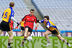 Alan O'Leary Kenmare in Action against \b0\  Ballinasloe in the Junior All Ireland Club Final in Croke park on Sunday.