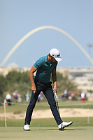 Joakim Lagergren (SWE) in action during the second round of the Commercial Bank Qatar Masters, Doha Golf Club, Doha, Qatar. 08/03/2019<br /> Picture: Golffile | Phil Inglis<br /> <br /> <br /> All photo usage must carry mandatory copyright credit (&copy; Golffile | Phil Inglis)