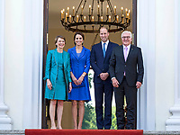 Federal President Steinmeier welcomes Prince William Duke of Cambridge and Catherine Duchess of Camb