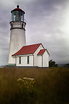 Cape Blanco lighthouse in Oregon