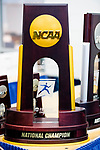 UNIVERSITY PARK, PA - MARCH 25:  The National Championship trophy for the Division I Men's and Women's Fencing Championship held at the Multi-Sport Facility on the Penn State University campus on March 25, 2018 in University Park, Pennsylvania. (Photo by Doug Stroud/NCAA Photos via Getty Images)