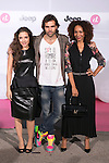 """Joana Cobo, Angel Caballero and Montse Pla attends the """"JEEPster Party"""" in Madrid, Spain. October 30, 2014. (ALTERPHOTOS/Carlos Dafonte)"""