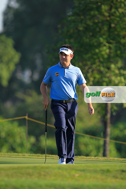 Louis Oosthuizen (RSA) in action during Round Four of the Maybank Championship Malaysia 2016, at the Royal Selangor Golf Club, Kuala Lumpur, Malaysia.  21/02/2016. Picture: Golffile | Thos Caffrey.<br /> <br /> All photos usage must carry mandatory copyright credit (&copy; Golffile | Thos Caffrey).
