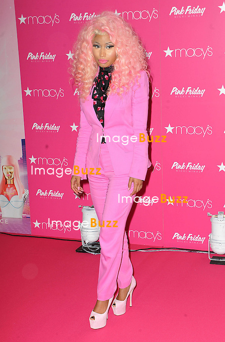 "Nicki Minaj at the launch of her new fragrance, ""Pink Friday"" in New York City. New York, November 20, 2012."