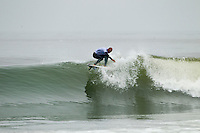 "LOWER TRESTLES, California / USA (Tuesday, September 20, 2011) - The Hurley Pro at Trestles returned to Lowers for the third consecutive day and saw the world's best surfers put in stellar performances in improved conditions as the frontrunners on the ASP Top 34 proved lethal in their battle for this year's heated ASP World Title race...Joel Parkinson (AUS), 30, current No. 3 on the ASP World Title Race, surgically dissected two Lower Trestles set waves, notching a 17.00 total in a close heat to surpass Huntington Beach's Brett Simpson (USA), 26, despite a valiant effort from the Californian in Round 3...""I was hoping for just a couple waves and we got a couple of set waves each,"" Parkinson said. ""I watched the first two of Brett's (Simpson) waves after I got my scores and wanted to stay involved, but I just couldn't worry or watch. He's an amazing surfer and beat me in Tahiti so it was kind of good to get one back. We've surfed the last three events together and there are those little rivalries that pop up.""..Parkinson's dominance continued in Round 4, when he went for broke on a long righthander in need of a near-perfect score to overtake Julian Wilson (AUS), 22, and logged a 9.13 to secure the day's highest heat-total of 18.06 (out of 20) while advancing directly through to the Quarterfinals...""Julian's wave wave was sick,"" Parkinson said. ""I don't know what to say about it though, I'm a purist. That wave of mine was a long wave, my legs were burning at the end. Me and Julian were hassling and I thought 'I don't care if I get an interference or not, I'm losing anyway.' Mick got that wave before it too, that was a great heat.""..Owen Wright (AUS), 21, current No. 2 on the ASP World Title Series, earned an amazing come-from-behind victory to defeat young Hawaiian John Florence (HAW), 18, in a high-scoring heat of 17.84 to 17.13. Wright locked in to a long Lowers right with just minutes remaining in the matchup in need of a 9-point score and unloaded a series of furi"