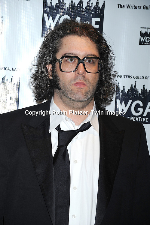 """Judah Friedlander. of """"30 Rock""""..attending The 61st Annual Writer's Guild Awards on February 7, 2009 at The Hudson Theatre at The Millennium Broadway Hotel in New York City.....Robin Platzer, Twin Images"""
