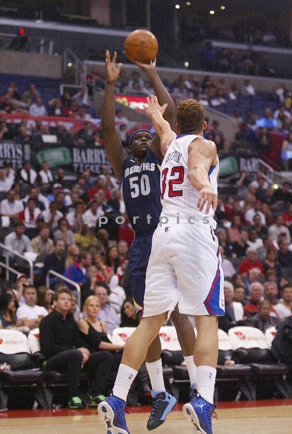 Memphis Grizzlies Zach Randolph (50)