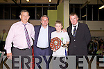Awards night for Listowel Celtic Soccer Schoolboys/girls were held in St. Michaels College Listowel on Thursday night..Paddy Lynch, Ray Houghton, Jason Foley, Aidan O'Connor