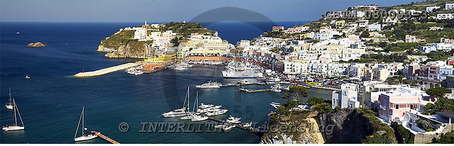 Tom Mackie, LANDSCAPES, panoramic, photos, Island of Ponza, Tyrrhenian Sea, Italy, GBTM080093-3,#L#