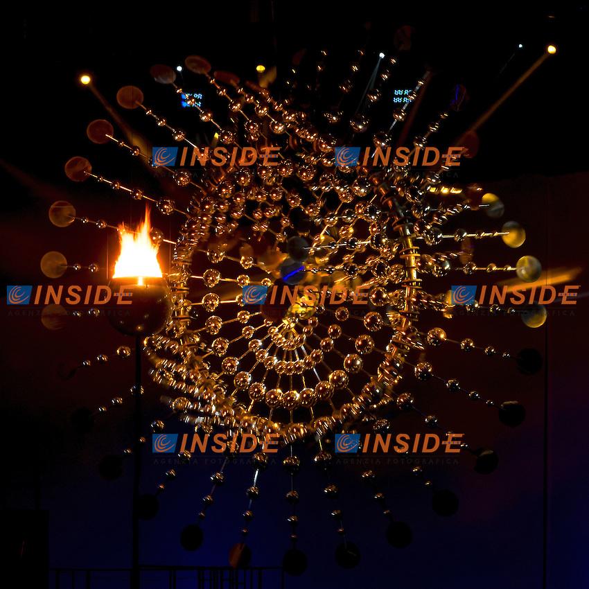 Fiamma Olimpica<br /> Rio de Janeiro 06-08-2016 XXXI Olympic Games <br /> Maracana' Stadium <br /> Opening Ceremony 05/08/2016<br /> Photo Giorgio Scala/Deepbluemedia/Insidefoto