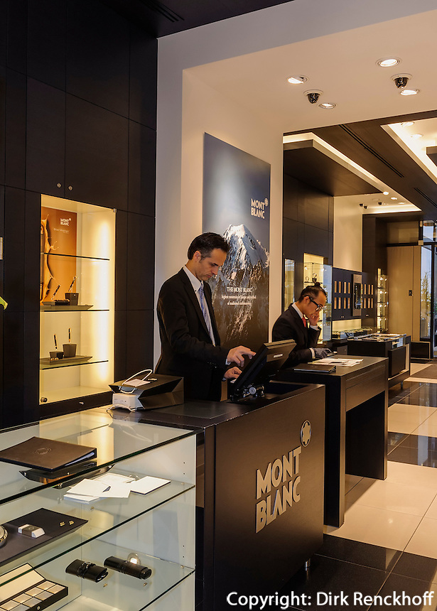 Montblanc Boutique, Neuer Wall 18, Hamburg, Deutschland