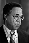 "February 13, 1977--Alex Haley--Author Alex Haley speak in Modesto, California.  Alexander Murray Palmer ""Alex"" Haley was an American writer and the author of the 1976 book Roots: The Saga of an American Family.  He was born August 11, 1921 in Ithaca, New York and died February 10, 1992 in Seattle, Washington.  Photo By Al Golub/Golub photography"