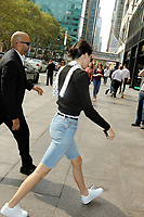 www.acepixs.com<br /> <br /> September 12 2017, New York City<br /> <br /> Model Kendall Jenner goes out in Midtown Manhattan on September 12 2017 in New York City<br /> <br /> By Line: Philip Vaughan/ACE Pictures<br /> <br /> <br /> ACE Pictures Inc<br /> Tel: 6467670430<br /> Email: info@acepixs.com<br /> www.acepixs.com