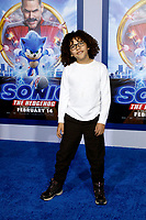"""LOS ANGELES - FEB 12:  Ethan William Childress at the """"Sonic The Hedgehog"""" Special Screening at the Village Theater on February 12, 2020 in Westwood, CA"""
