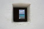 White Slave, divesite, ruins, Bonaire, Salt mining, window, ocean