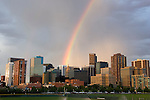 Rainbow, Denver, Colorado, USA John offers private photo tours of Denver, Boulder and Rocky Mountain National Park.