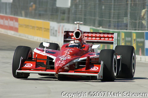 31 August 2007: Scott Dixon (NZL) at the Detroit Belle Isle Grand Prix, Detroit, Michigan.