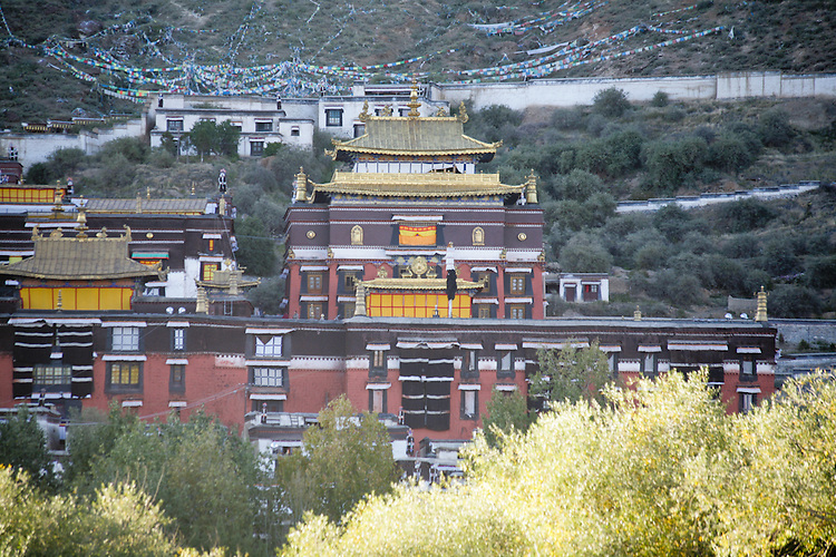Tashunpo Monestary in Tibet's second city, Shgatse, is the seat of the Penchen Lama.