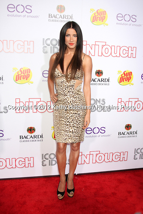"LOS ANGELES - SEP 6:  Jacqueline MacInnes Wood arrives at the ""Icons and Idols"" Party  at Chateau Marmont on September 6, 2012 in Los Angeles, CA"