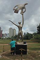 SÃO PAULO,SP, 05.03.2016 - HOMENAGEM-SP - Monumento em homenagem ao Ex-Govenrnador de São Paulo Mario Covas é visto no Parque da Juventude no bairro do Carandirú zona norte da cidade na manhã deste sábado (05). ( Foto : Marcio Ribeiro / Brazil Photo Press)