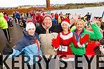 Marie O'Connor,  John O'Connor,  Majella Diskin and Eileen Casey,  pictured at the Santa 5k run in aid of the Ronald McDonald House, Crumlin.