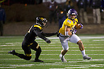 SALEM, VA - DECEMBER 16:  Carson Embry (88) of the University of Mary Hardin-Baylor picks up a first down against the University of Wisconsin-Oshkosh during the Division III Men's Football Championship held at Salem Stadium on December 16, 2016 in Salem, Virginia.   Mary Hardin-Baylor defeated the University of Wisconsin-Oshkosh 10-7 for the national title. (Photo by Don Petersen/NCAA Photos via Getty Images)