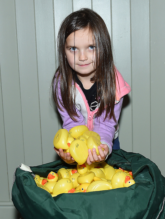 Sinead O'Driscoll pictured at the Termonfeckin duck race. Photo:Colin Bell/pressphotos.ie