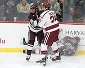 Hunter Racine (Colgate - 28), Jacob Olson (Harvard - 26), Tim Harrison (Colgate - 19) -  - The Harvard University Crimson defeated the visiting Colgate University Raiders 7-4 (EN) on Saturday, February 20, 2016, at Bright-Landry Hockey Center in Boston, Massachusetts.