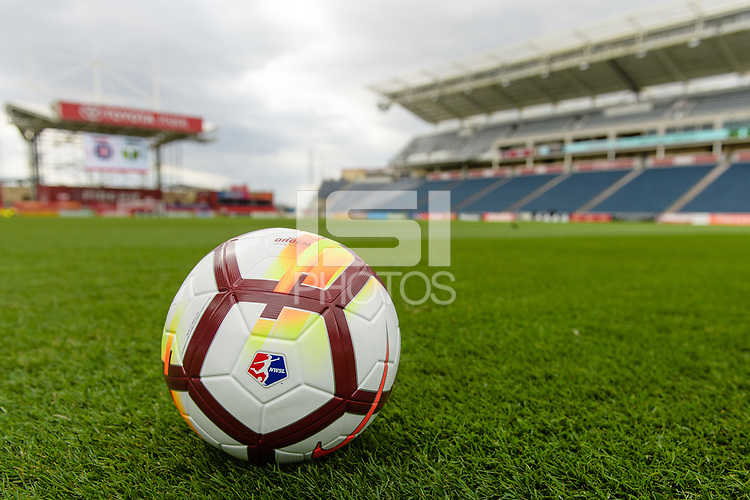 Bridgeview, IL - Saturday March 31, 2018:  during a regular season National Women's Soccer League (NWSL) match between the Chicago Red Stars and the Portland Thorns FC at Toyota Park.