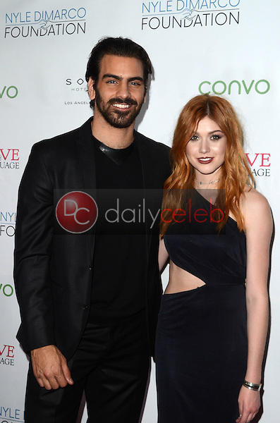 Nyle DiMarco, Katherine McNamara<br /> at the Nyle DiMarco Foundation Love &amp; Language Kickoff Campaign 2016, Sofitel Hotel, Beverly Hills, CA 11-29-16<br /> David Edwards/DailyCeleb.com 818-249-4998