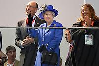 20120728 Olimpiadi Londra 2012 La Regina Elisabetta II al Nuoto