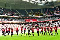 Esultanza des joueurs du LOSC en fin de match<br /> Lille - Nantes 06-08-2017 <br /> Calcio Ligue 1 2017/2018 <br /> Foto Panoramic/insidefoto