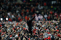 Fans take to the field after the NCAA football game between the Ohio State Buckeyes and the Penn State Nittany Lions at Ohio Stadium on Saturday, October 28, 2017. [Jonathan Quilter/Dispatch]