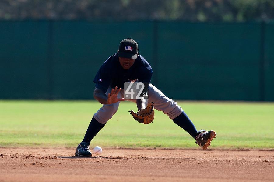 Baseball - MLB Academy - Tirrenia (Italy) - 19/08/2009 - Zair Koeiman (Netherlands)
