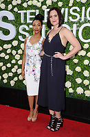 01 August  2017 - Studio City, California - Sonequa Martin-Green, Mary Chieffo.  2017 Summer TCA Tour - CBS Television Studios' Summer Soiree held at CBS Studios - Radford in Studio City. Photo Credit: Birdie Thompson/AdMedia