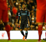 Raheem Sterling of Manchester City who was booed by the Liverpool fans every time he touched the ball. It was his first time back at Anfield following his big money move to City - English Premier League - Liverpool vs Manchester City - Anfield Stadium - Liverpool - England - 3rd March 2016 - Picture Simon Bellis/Sportimage