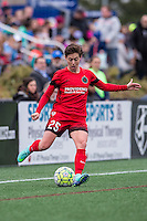 Allston, MA - Sunday, May 1, 2016:  Portland Thorns FC defender Meghan Klingenberg (25) in a match against the Boston Breakers at Harvard University.