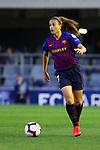 UEFA Women's Champions League 2018/2019.<br /> Quarter Finals.<br /> FC Barcelona vs LSK Kvinner FK: 3-0.<br /> Alexia Putellas.