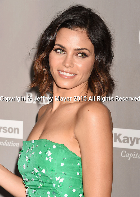 CULVER CITY, CA - NOVEMBER 14: Actress Jenna Dewan Tatum attends the 2015 Baby2Baby Gala presented by MarulaOil & Kayne Capital Advisors Foundation honoring Kerry Washington at 3LABS on November 14, 2015 in Culver City, California.