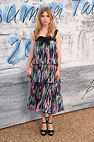 LONDON, UK. June 25, 2019: Clemence Posey arriving for the Serpentine Gallery Summer Party 2019 at Kensington Gardens, London.<br /> Picture: Steve Vas/Featureflash