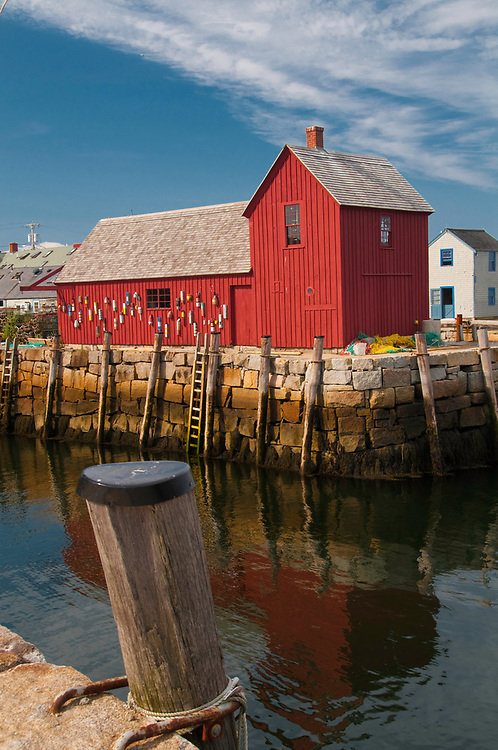 August 7, 2009 / Rockport Massachusetts / Scenic photos of harbor and vicinity. Shown is Rockport Harbor and Motif #1 Photo by Bob Laramie