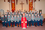 Tarbert Confirmation: Mrs O'Connell's & Mrs.Lawlee's, Tarbert NS classes who were confirmed in Tarbert parish Church by Bishop Ray Browne on Wednesday 25th  March.