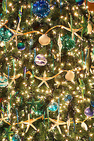 Christmas tree decorated. Providence Festival of Trees. Portland. Oregon