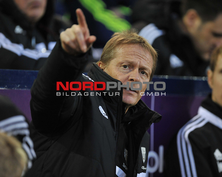 West Bromwich Albion Manager, Keith Downing -  04/01/2014 - SPORT - FOOTBALL - West Bromwich - The Hawthorns - West Brom v Crystal Palace - FA Cup - Third Round<br /> Foto nph / Meredith<br /> <br /> ***** OUT OF UK *****