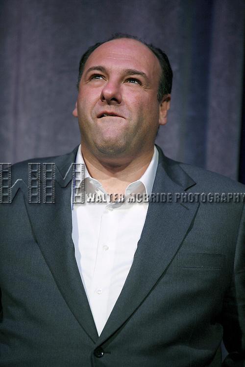 James Gandolfini<br /> attending the Toronto International Film Festival <br /> ( TIFF ) Gala Preniere of ALL THE KING's MEN  at the Roy Thomson Hall on September 10, 2006 in Toronto, Canada.
