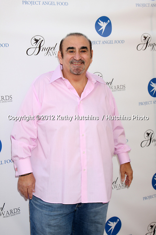 LOS ANGELES - AUG 18:  Ken Davitian arrives at the 17th Annual Angel Awards at Project Angel Food on August 18, 2012 in Los Angeles, CA