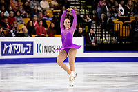 Thursday, March 31, 2016: Kerstin Frank (AUT) competes in the Ladies Short Program at the International Skating Union World Championship held at TD Garden, in Boston, Massachusetts. Eric Canha/CSM